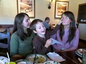 Olive Garden fun ;)