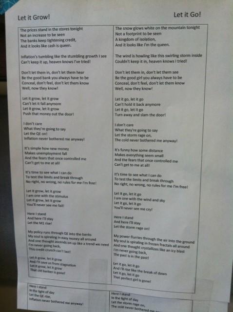 FrozenLyrics